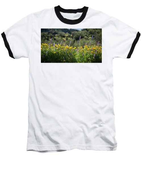 Baseball T-Shirt featuring the photograph Gently Swaying In The Wind  by Saija Lehtonen