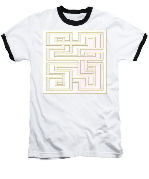 Geo 7 - Transparent Baseball T-Shirt