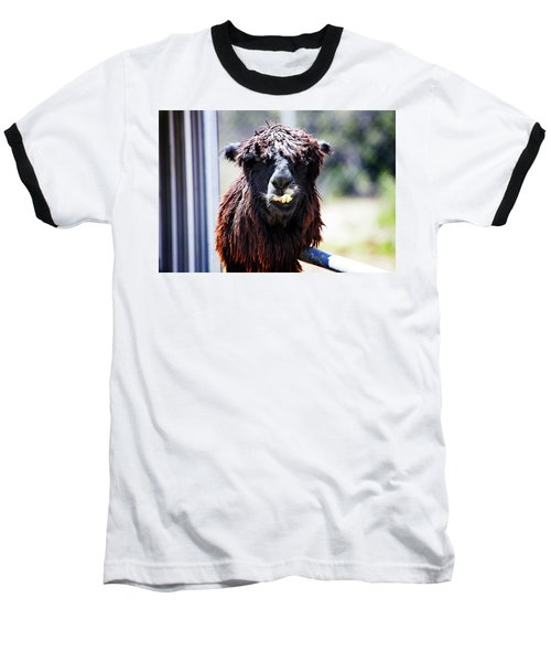 Baseball T-Shirt featuring the photograph Geofery by Anthony Jones