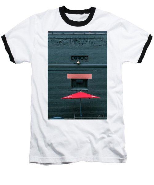 Geometric Illusion Baseball T-Shirt