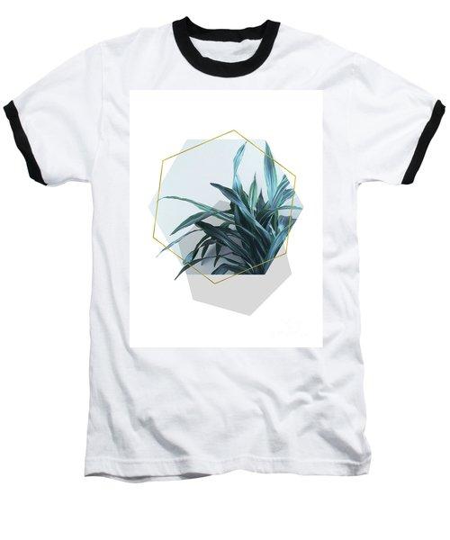 Geometric Jungle Baseball T-Shirt