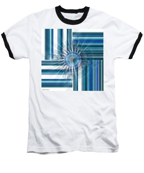 Geometry  Baseball T-Shirt by Thibault Toussaint