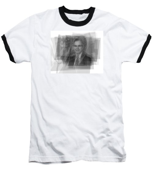 George H. W. Bush Baseball T-Shirt by Steve Socha