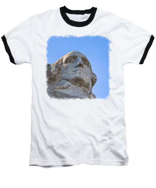 George Washington 3 Baseball T-Shirt by John M Bailey