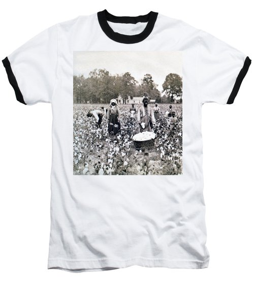 Georgia Cotton Field - C 1898 Baseball T-Shirt