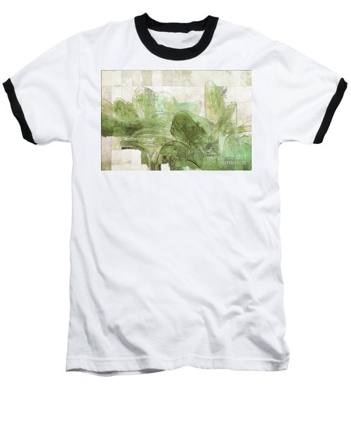 Baseball T-Shirt featuring the digital art Gerberie - 30gr by Variance Collections