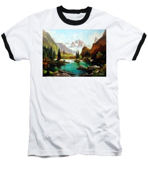 German Alps Baseball T-Shirt