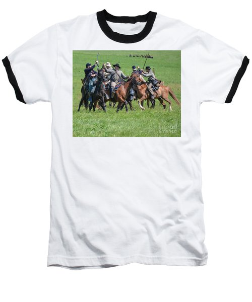 Gettysburg Cavalry Battle 7948c  Baseball T-Shirt