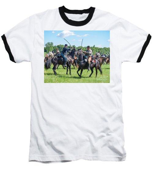 Gettysburg Cavalry Battle 7978c  Baseball T-Shirt