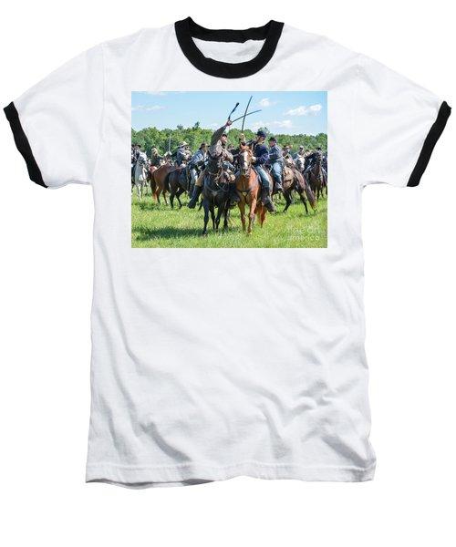 Gettysburg Cavalry Battle 7992c  Baseball T-Shirt