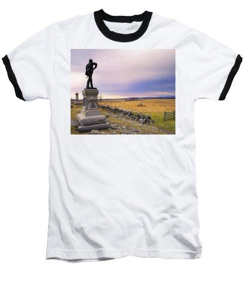 Gettysburg Monument I Baseball T-Shirt
