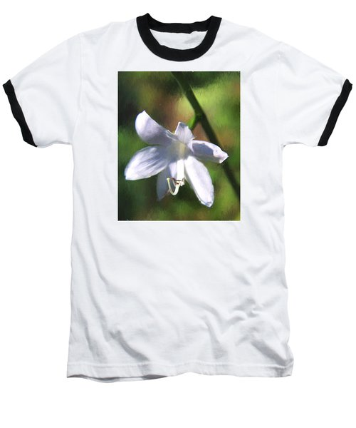 Ghost Flower Baseball T-Shirt