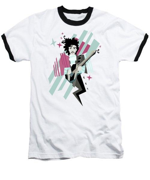 Ghost Of The Prince Baseball T-Shirt by Julia Jasiczak