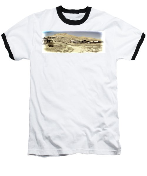 Ghost Town Textured Baseball T-Shirt