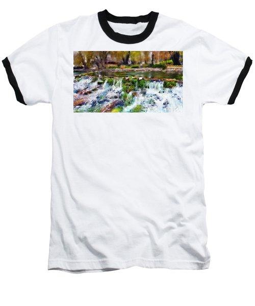 Giant Springs 1 Baseball T-Shirt by Susan Kinney