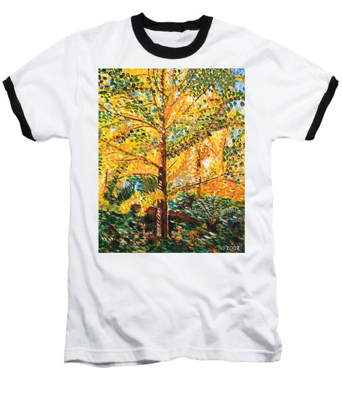 Gingko Tree Baseball T-Shirt
