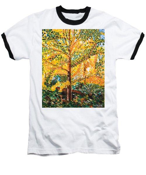 Gingko Tree Baseball T-Shirt