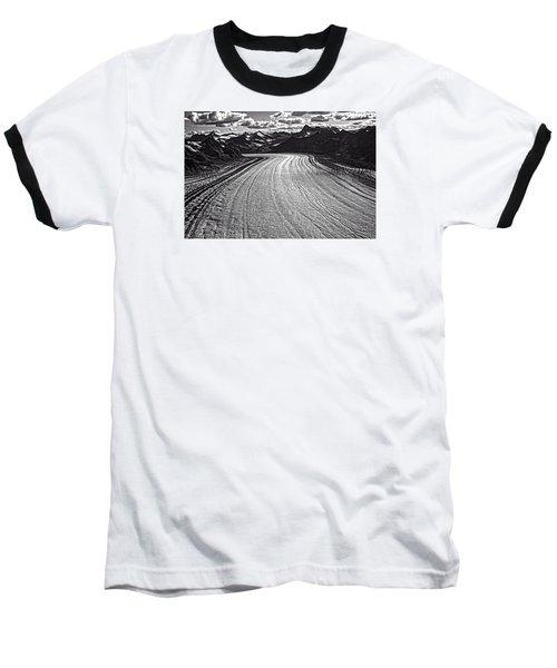 Glacier Field Alaska Baseball T-Shirt