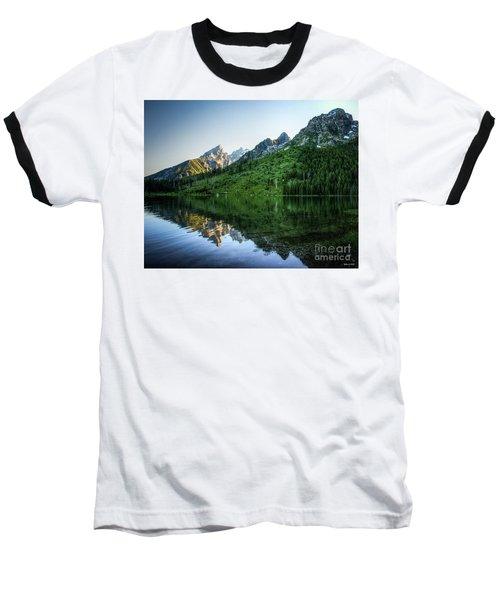 Glacier Lake Baseball T-Shirt