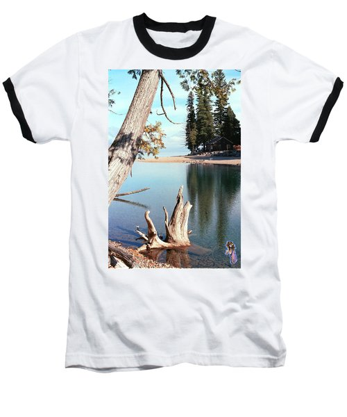 Glacier National Park 4 Baseball T-Shirt