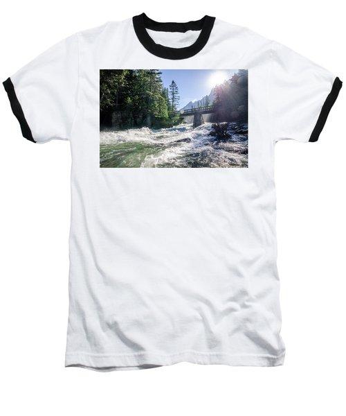 Glacier National Park Beauty Baseball T-Shirt