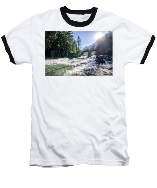 Glacier National Park Beauty Baseball T-Shirt