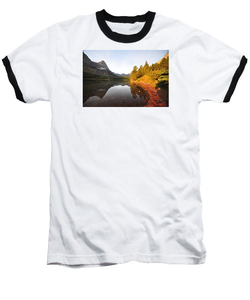 Glacier National Park Baseball T-Shirt