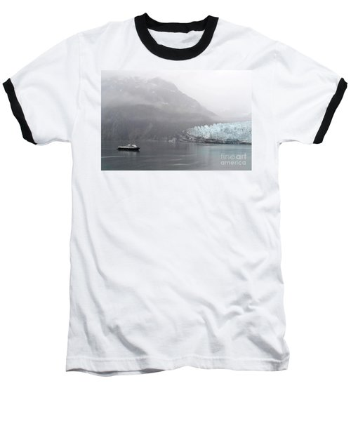 Glacier Ride Baseball T-Shirt by Zawhaus Photography