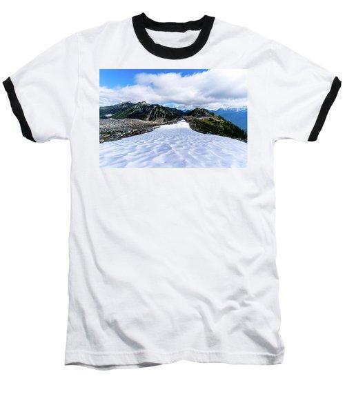 Glaciers At North Cascades Baseball T-Shirt