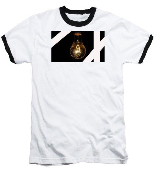 Glass Light Art Baseball T-Shirt