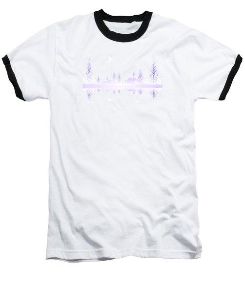 Glass Winter Baseball T-Shirt