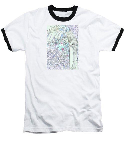 Baseball T-Shirt featuring the photograph Glasshouse Jungle by Nareeta Martin