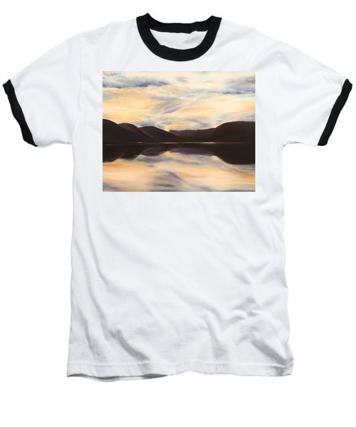 Baseball T-Shirt featuring the painting Glencoe by Elizabeth Lock
