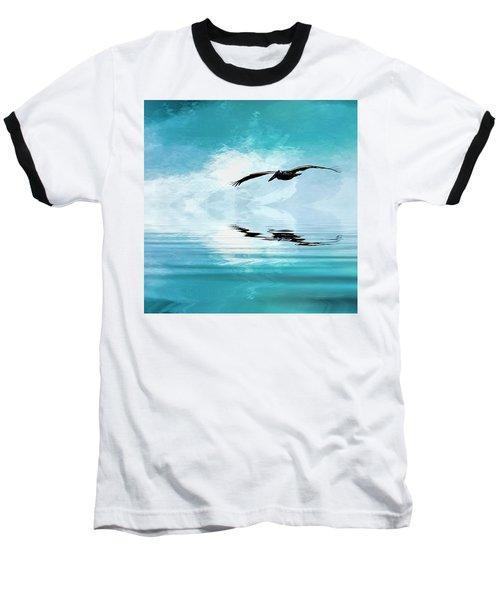 Gliding Baseball T-Shirt by Cyndy Doty