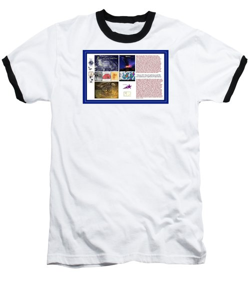 Glimpsing Divinity Baseball T-Shirt by Peter Hedding