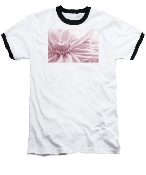 Gloriosa Daisy In Pink  Baseball T-Shirt by Sandra Foster
