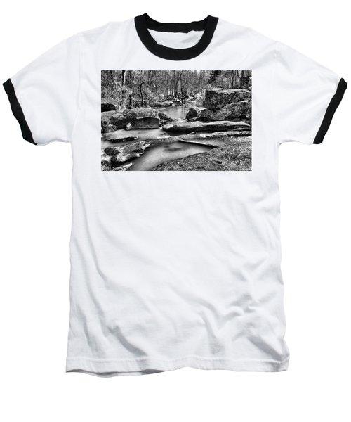 Baseball T-Shirt featuring the digital art Glow Water by Greg Sharpe