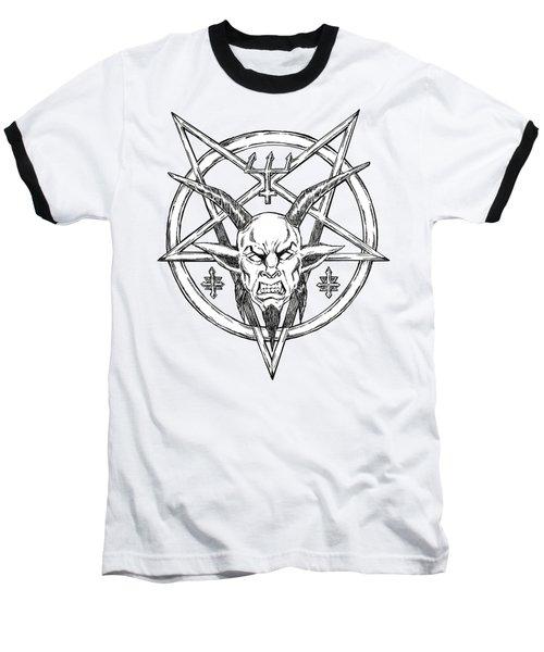 Goatlord Logo Baseball T-Shirt by Alaric Barca