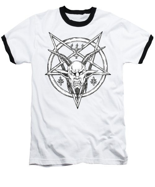 Goatlord Logo Baseball T-Shirt