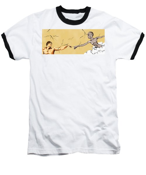 God And Man Baseball T-Shirt