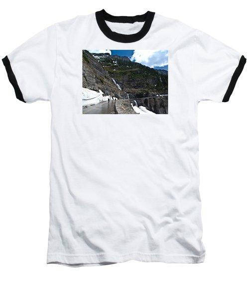 Going To The Sun Bike Ride Baseball T-Shirt