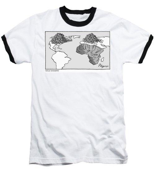 Gold Diggers Baseball T-Shirt