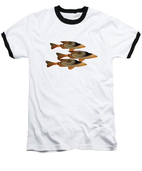Gold Fish Baseball T-Shirt
