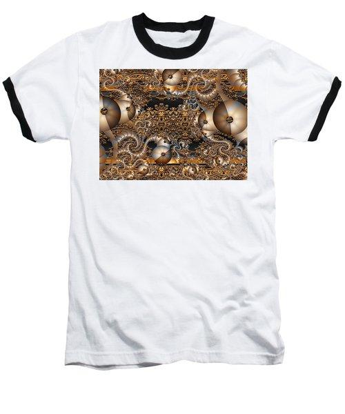 Baseball T-Shirt featuring the digital art Gold Rush by Robert Orinski
