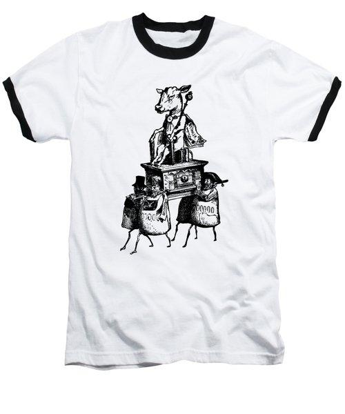 Golden Calf Grandville Transparent Baseball T-Shirt