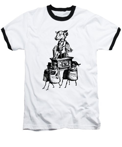 Golden Calf Grandville Transparent Baseball T-Shirt
