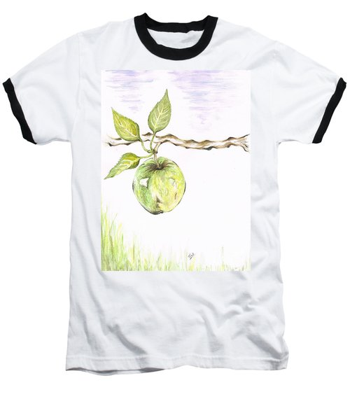 Golden Delishous Apple Baseball T-Shirt