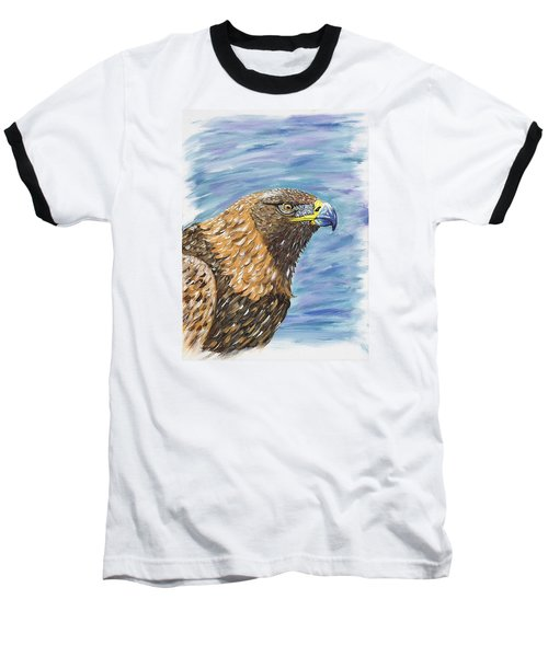 Golden Eagle Baseball T-Shirt by Scott Wilmot