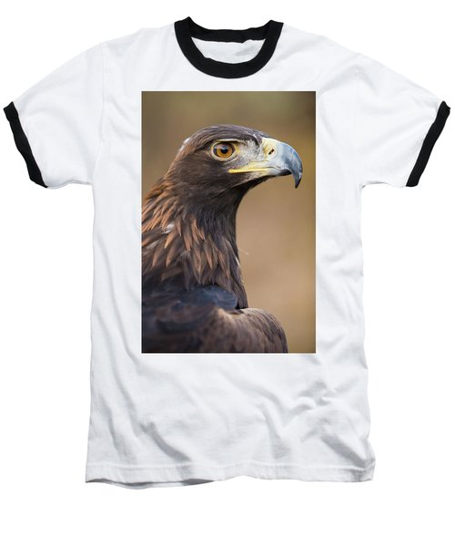 Baseball T-Shirt featuring the photograph Golden Eagle by Wesley Aston