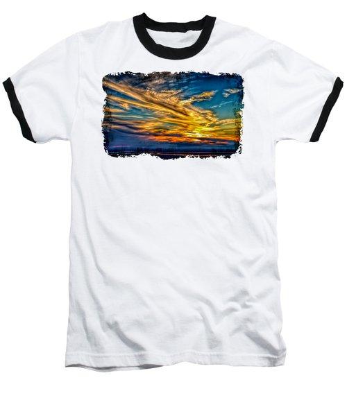 Golden Evening 2 Baseball T-Shirt